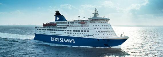 Oslobåden sejler mellem København og Oslo i Norge