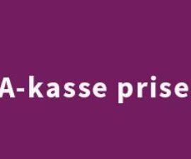 A-kasse Priser 2018